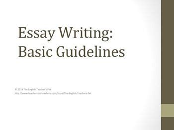 How to write an introductory paragraph for an essay